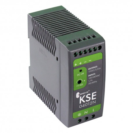 KSE 04012N 230/12VDC 3,3A 40W zasilacz impulsowy Breve