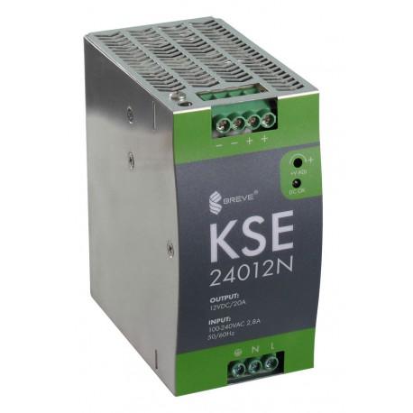 KSE 24012N 230/12VDC 20A 240W zasilacz impulsowy Breve