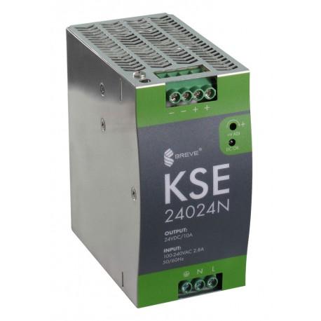KSE 24024N 230/24VDC 10A 240W zasilacz impulsowy Breve