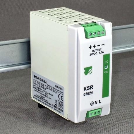 KSR 03624 230/ 24VDC 1,5A Breve - zasilacz impulsowy