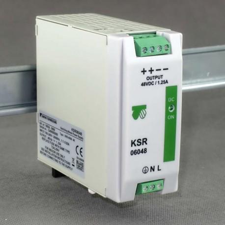 KSR 06048 230/ 48VDC 1,25A Breve - zasilacz impulsowy
