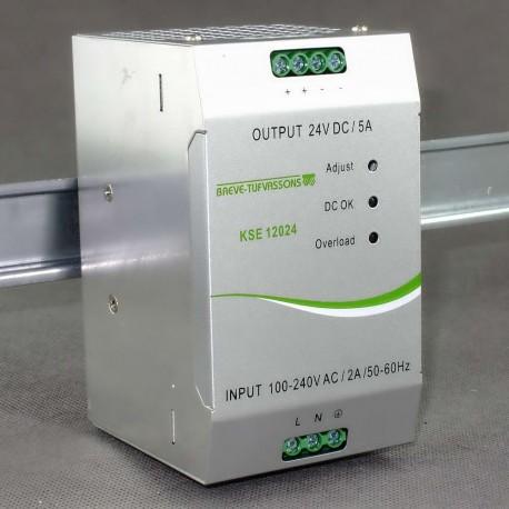 KSE 12024 230/ 24VDC 5A Breve - zasilacz impulsowy