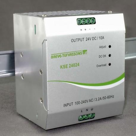 KSE 24024 230/ 24VDC 10A Breve - zasilacz impulsowy