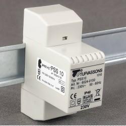 PSS 10 230/ 8V transformator na szynę DIN Breve