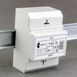 PSS 30 230/ 24V transformator na szynę DIN Breve