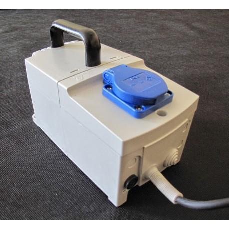 PFS 250 230/ 230V przenośny, obudowany, separacyjny transformator Breve