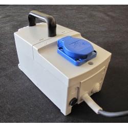 PFS 630 230/ 230V przenośny, obudowany, separacyjny transformator Breve
