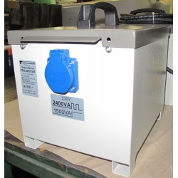 PFN2401/1501 - 230/230V separacyjny transformator do elektronarzędzi, przenośny, obudowany, Breve