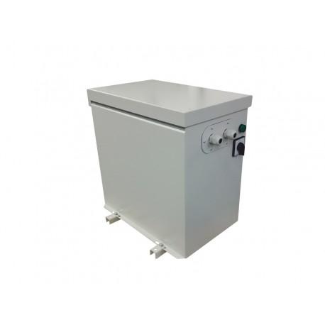 PA3M 40002 3x400V/3x200V 40kVA - autotransformator trójfazowy, obudowany IP23 Breve