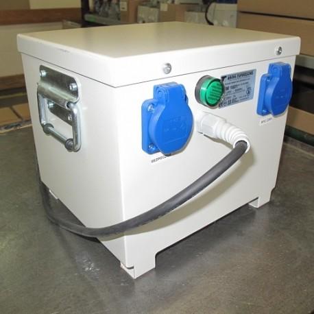 PFM2500 230/230V separacyjny transformator przenośny, obudowany, Breve
