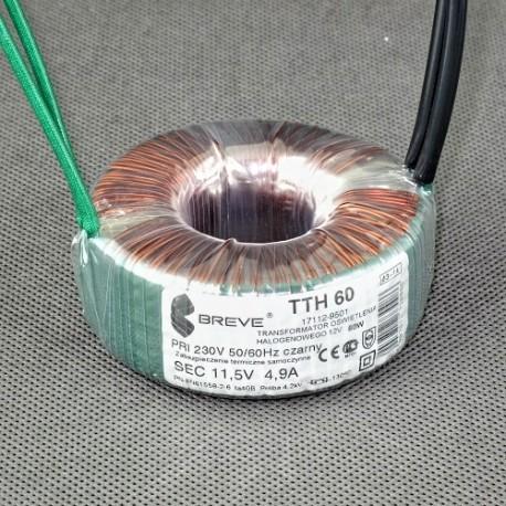 TTH 60 230/11,5V Breve transformator toroidalny do halogenów