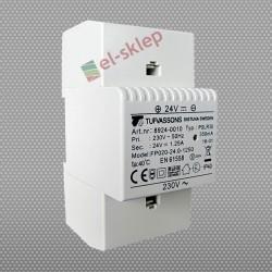 PSLR 30 (24) 230/ 24VDC 1,25A 30W modułowy impulsowy zasilacz Breve