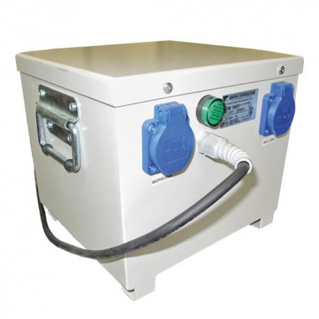 PFM1600 230/230V-7A separacyjny transformator przenośny, obudowany, Breve
