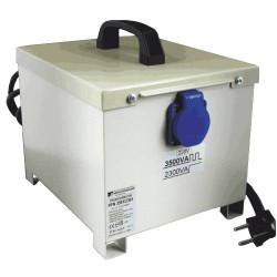 PFN2401/1501 Breve 230/230V przenośny, obudowany, separacyjny transformator do elektronarzędzi