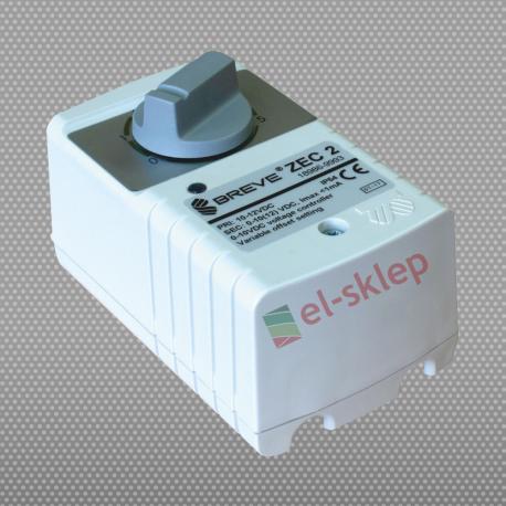 ZEC 2 Breve - zadajnik napięciowy pięciostopniowy 0-10V DC