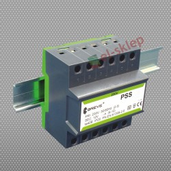 PSS63N230/12V transformator na szynę DIN Breve