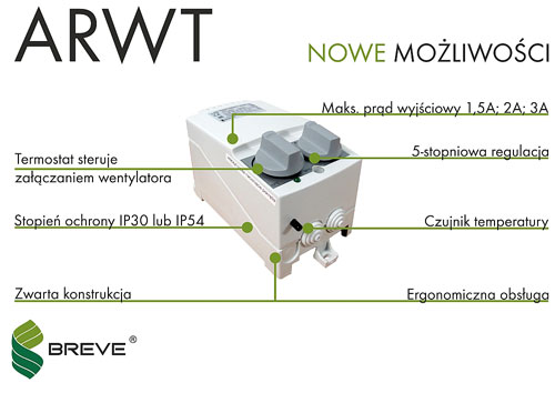 ARWT - regulatory z termostatem
